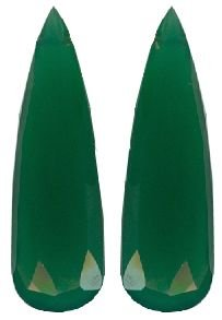 Green Onyx Long Pair